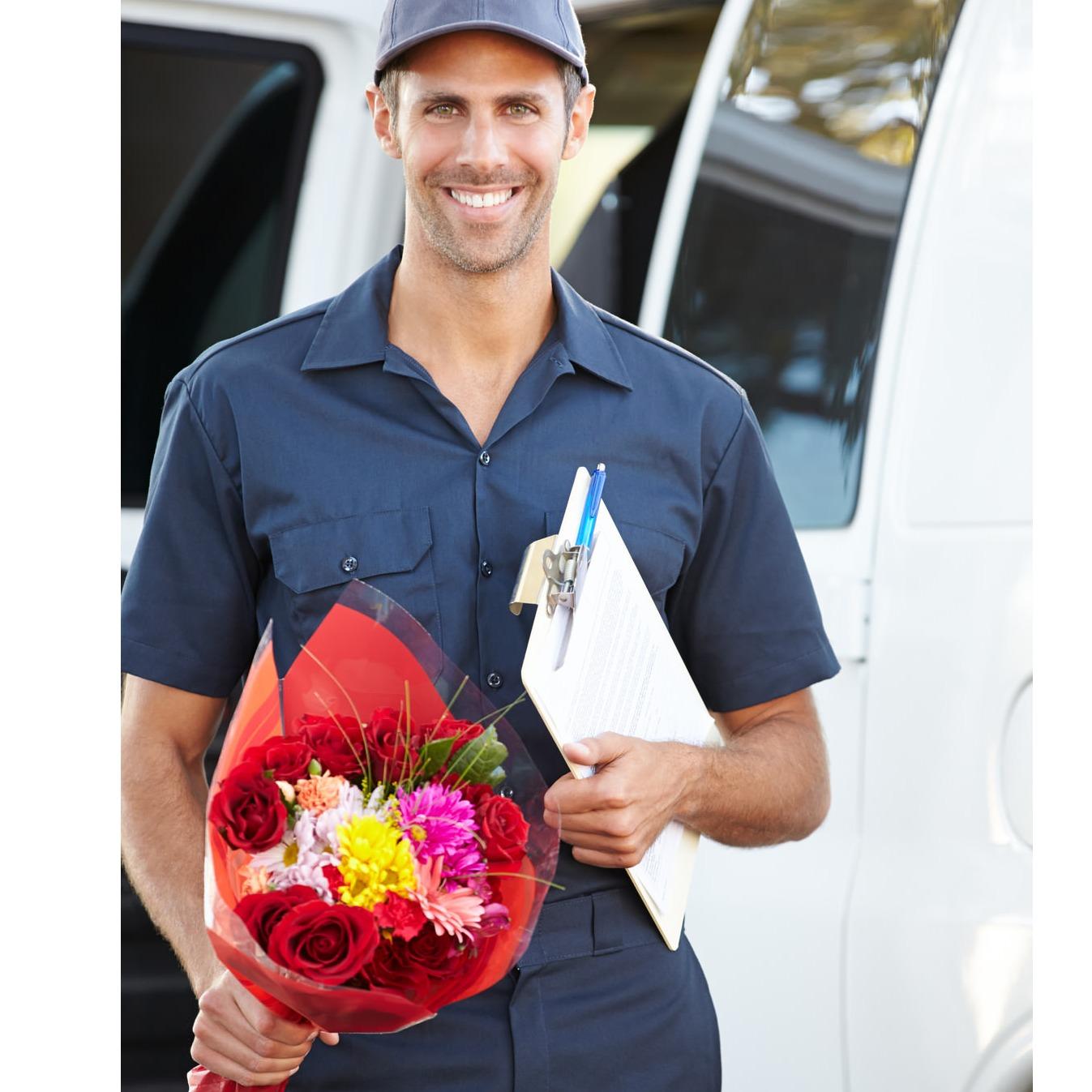 Услуга доставки цветов по казахстану, бросания